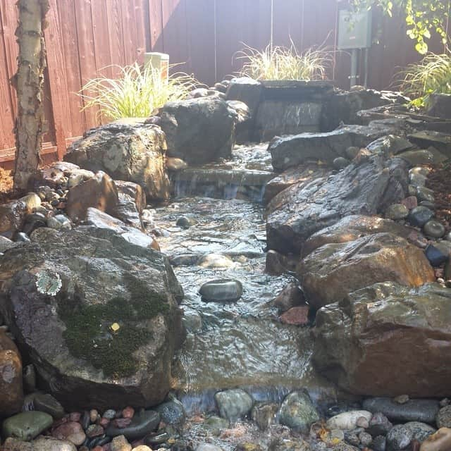 give-me-a-call-to-install-your-pondless-waterfall-and-create-a-backyard-oasis-paradise--hongslandscape-watergardening-landscaping-hongslandscape_14694877226_o