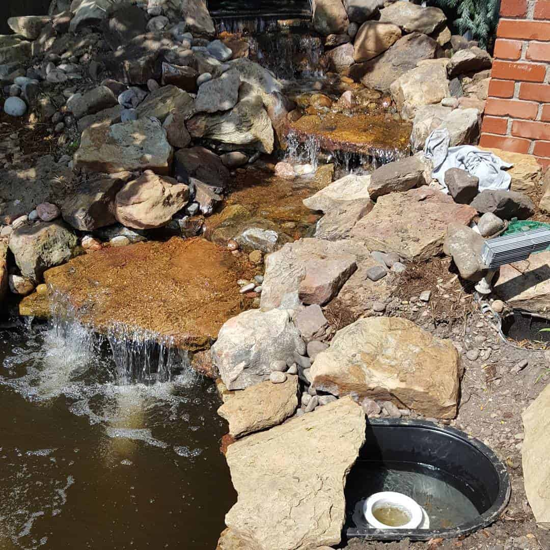 helixlifesupport-skimmer-retrofit-done-today-livingthepondlife-waterfallfeature-watergarden-helixnation-pondbuilder-wichita-kansas-ilovewichita_27789801276_o