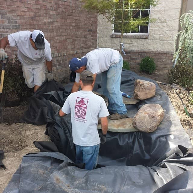 pond-crew-building-a-pondless-waterfall--hongslandscape-gardening-watergardening-waterfalls-hongslandscape_14418868139_o