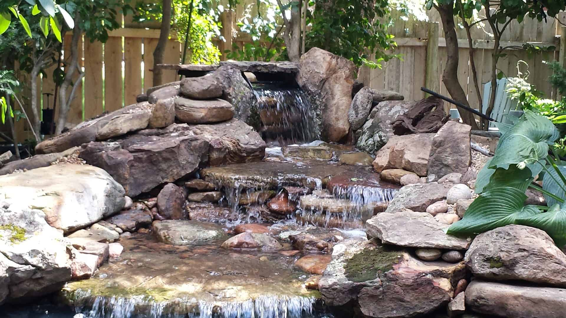pond--waterfall-renovation-june-2015_19367321090_o